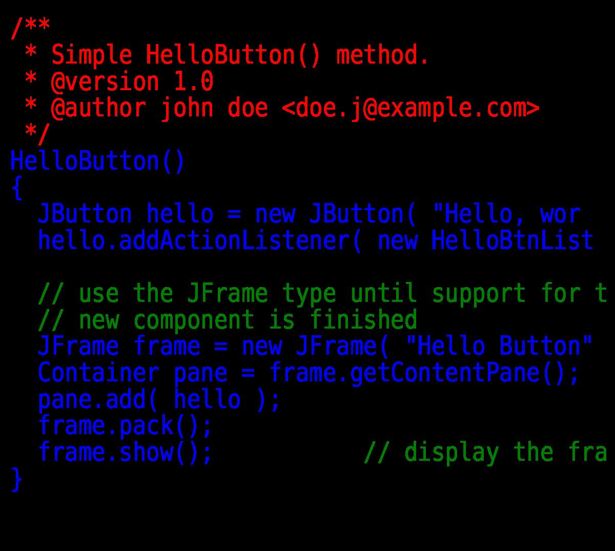 hello world javascript