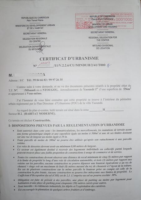 certificat de cession a imprimer